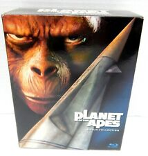 2M Blu Ray Dvd Planet Of The Apes 5 Film Collection Science Fiction Box Set
