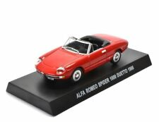 Italian Jg01 Alfa Romeo Spider 1600 Duetto 1966 Red 1/43th Maßstab Blisterpack