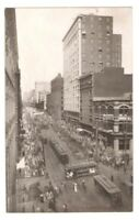 Postcard WA Seattle Second Avenue Downtown View RPPC Reid Real Photo c1907