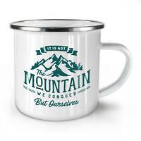Mountain NEW Enamel Tea Mug 10 oz | Wellcoda