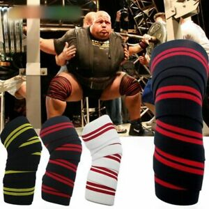 Knee Wraps Straps For Weightlifting Gym Workout Powerlifting Squats Sleeves