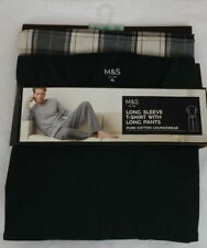 Marks and Spencer Cotton Big & Tall Nightwear for Men