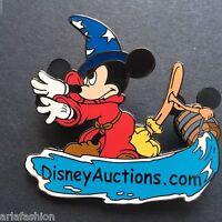Disney Auctions - Sorcerer Mickey on DA Logo LE 2500 Disney Pin 34839