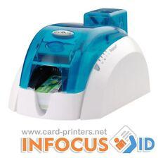 Refurbished BLUE Evolis Pebble 4 Plastic ID Card Printer