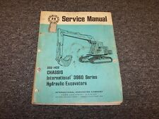 International Harvester IH 3960 Excavator Chassis Service Repair Manual