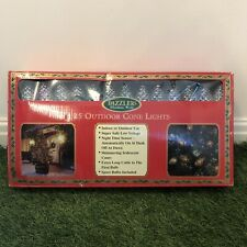 Retro Vintage Dazzlers Christmas Indoor Outdoor Cone Lights 1994 Fully Working