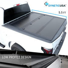 Fit 2007-2021 Tundra 5.5ft Short Bed Hard Tri-Fold Tonneau Cover Low Profile
