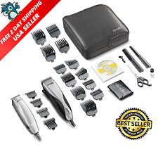 Andis Promotor Barber Professional Hair Trimmer Clipper Combo Set Pro Cut Kit