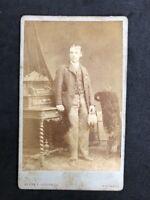 Victorian Carte De Visite CDV: Gentleman: Chapman: Swansea