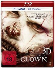 CLOWN [2014] (Blu-ray 3D, Blu-ray)~~~~Eli Roth, Peter Stormare~~~~NEW & SEALED