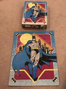 DC Comics Batman Classic (1989) Golden 100 Piece Puzzle VTG Decor 1689