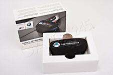 Genuine BMW M Performance Alcantara Key Fob Holder Bag Carbon Cover 82292355519
