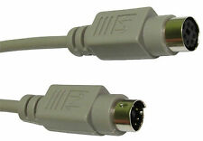 3m PS/2 Keyboard Mouse EXTENSION Cable Lead 6 pin PS2
