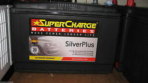SUPER CHARGE N70ZZH / N70ZZL SILVER PLUS HEAVY DUTY LANDCRUISER STARTING BATTERY