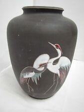 50er 60er Vase Kiechle Handarbeit Reiher 525 Keramik mid century 50s 60s