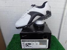 Nike Golf Air Tour Tiger Woods TW 8.5 Golf Shoes Full Grain Leather US Size 9.5
