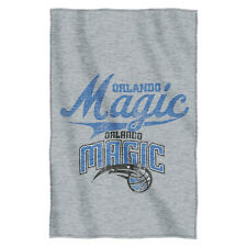 Orlando Magic NBA Logo Sweatshirt Material Poly/Cotton Throw Blanket