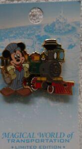 DisneyMagical World of Transportation - Pin Pursuit - Railroad Mickey train pin
