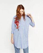 Zara Cotton Striped Tops for Women