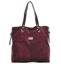 UGG Bag Seldon Tote Burgundy Wine Suede NEW $295 retail