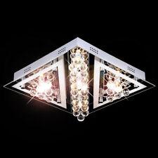 Led Design Kristall Glas Deckenleuchte Leuchte Deckenlampe Kronleuchter Decken