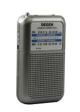 Pocket AM/FM radio - Tiny portable - High Quality ideal for handbags
