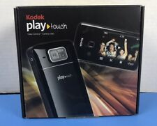 Kodak PlayTouch Zi10 Video Camera -  Blue - Great Condition, Original Box
