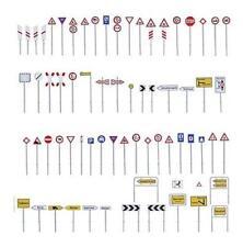 Baustellen Schild NEU Straßenschilder Faller 180930 Baustellenschilder-Set