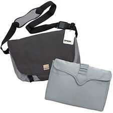 SMASH - TABLET / LAPTOP MESSENGER BAG WITH PADDED INSERT - NEW - $50