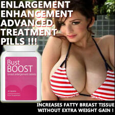 BUST BOOST BREAST ENLARGEMENT PILLS BOOBJOB BIG BOOBS FULLER FIRMER SEXIER