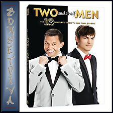 TWO AND A HALF MEN - COMPLETE SEASON 12 **BRAND NEW DVD ***