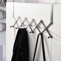 Over The Door Hanger Hook Hat Coat Rack Clothes Towel Holder Bathroom Organizer