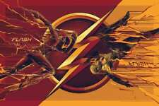 Mondo SDCC 2017 The Flash Screen Poster Art Print by Cesar Moreno Ed 225