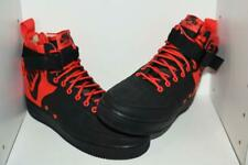"""NIKE SF AIR FORCE 1 MID """"HABANERO RED"""" MENS SHOES -  MENS SIZE 9"""
