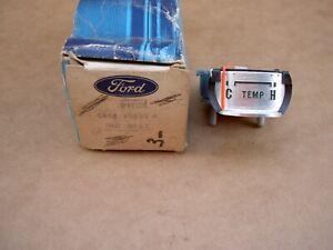 64-66 Ford Thunderbird instrument temperature gauge, C4SZ-10883-A, NOS