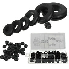 180x Rubber Grommet Set Assortment Hole Plug Firewall Electrical Wire Gasket New