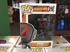 2017 Funko POP! Games Borderlands ZERO #210 Vinyl Figure MIB