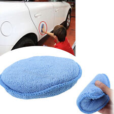 Polish Foam Sponge Cars Applicator Cleaning Microfiber Waxing Pads Detailing