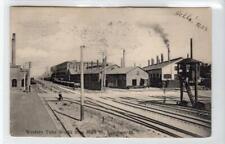 WESTERN TUBE WORKS FROM MAIN ST, KEWANEE: Illinois USA postcard (C42125)