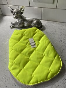 WATERPROOF QUILTED CHIHUAHUA YORKIE PUPPY COAT HAND MADE BY DESIGNERPETS