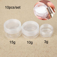 Bottles Pot Storage Boxes Cosmetic Jar Makeup Container Sample Canisters