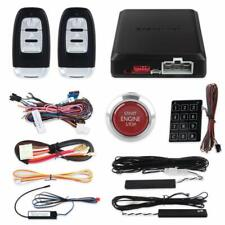 keyless entry PKE car alarm kit remote auto start Red button start central lock