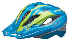 Casco KED calle Junior Pro azul verde mate | Gr. M 53-58 cm. 18423286