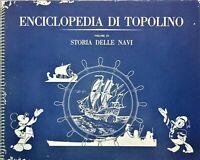 Album Figurine Enciclopedia Topolino - Storia delle Navi - Vol. IX - 1963 Compl.