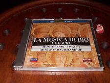 La musica di Dio I Vespri Monteverdi, Vivaldi, Mozart, Rachmaninof Cd ..... New
