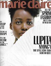 Marie Claire Magazine Lupita Nyongo Spring Fashion Perfume Therapy Accessories