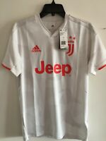 Adidas Juventus Away 2019-20 White Red Soccer Jersey Size S Men's Only