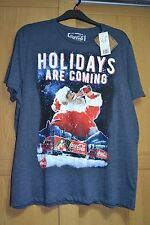 BNWT Coca Cola Christmas Truck T Shirt Holidays Are Coming 2XL XXL 119-124 47-49