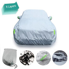 6 Layers Universal Fit Car Cover Waterproof Breathable Suv For Toyota Rav4 Fits Jeep