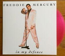 """Freddie Mercury - In My Defence  7"""" Pink Vinyl Queen"""